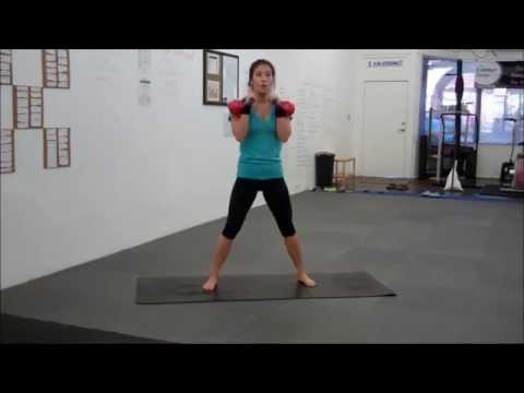 Physique Toning Kettlebell Work Out