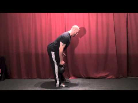 Kettlebell One-Arm Row Instruction