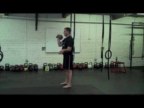 Kettlebell Coaching Exercise-Vitality Balance Circuit