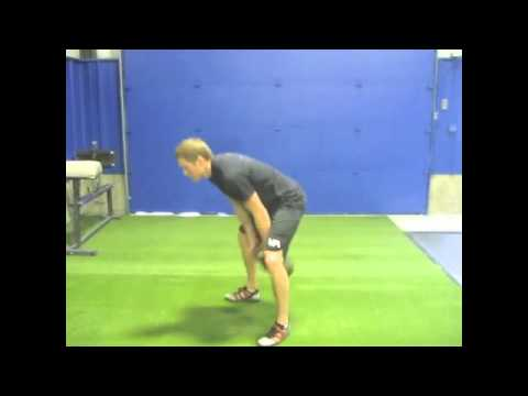 Kettlebell 2-Handed Squat Clear to Thruster