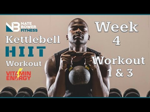 Kettlebell Paunchy Burner Circuit Bid. 4 Week Shred.  Week 3 Bid #2