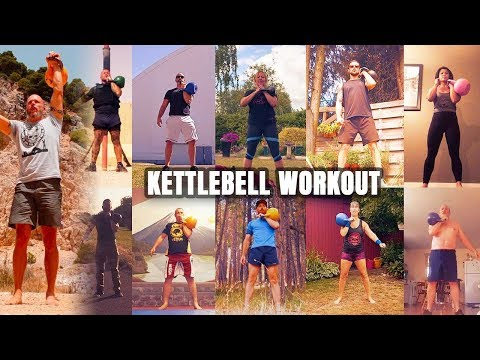 Intermediate Kettlebell Strength Say With One Kettlebell