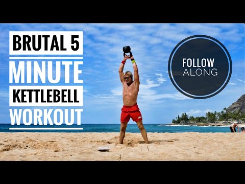 Strive My 5-Minute Put collectively-Alongside Kettlebell Routine! Stress-free, rapid, and difficult.