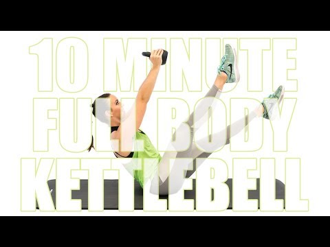 10 Minute Beefy Body Kettlebell Workout