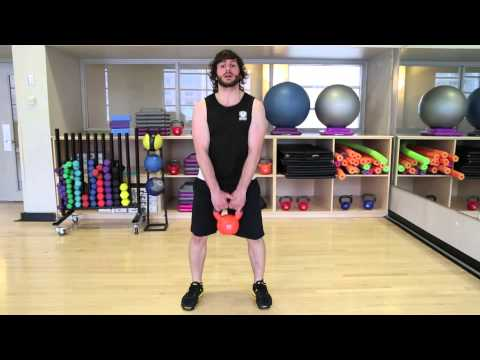 Practicing Tutorials  Kettlebell Squats