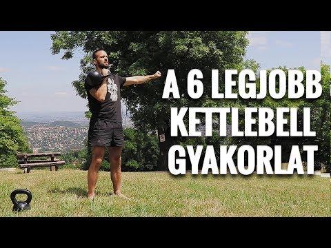 A 6 LEGJOBB KETTLEBELL GYAKORLAT
