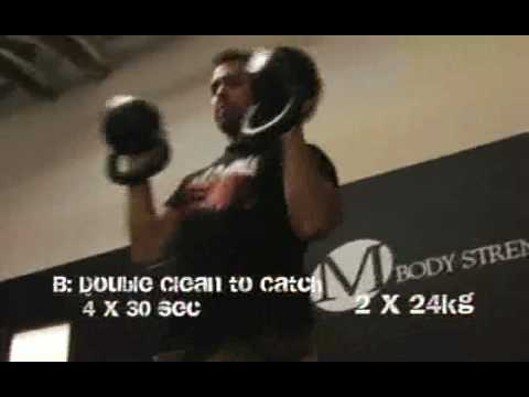 Evolved Kettlebell Explosive Power Workout