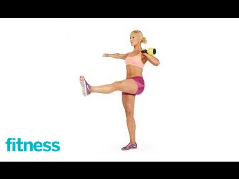 Kettlebell HIIT Cardio Snarl Squat Snarl | Fitness