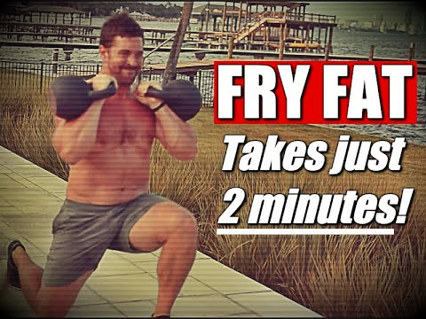 2 Minute Total Body Kettlebell Finisher [Burn Fat & Build Power!] | Chandler Marchman
