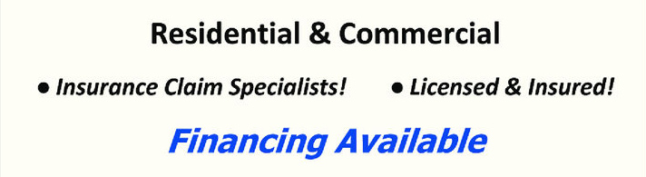 Services, Financing Available and Licensed and Insured