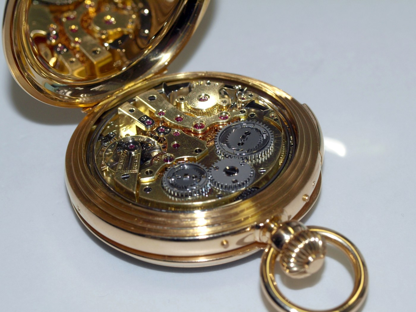 Grand Complication pocket watch in for service