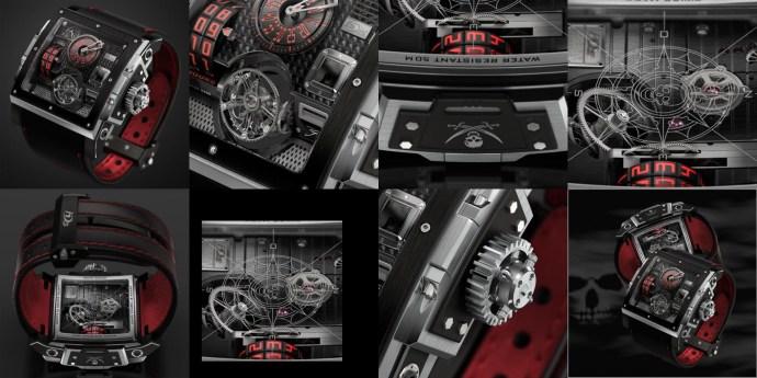 HD3 Complication Bi-Axial Black Pearl