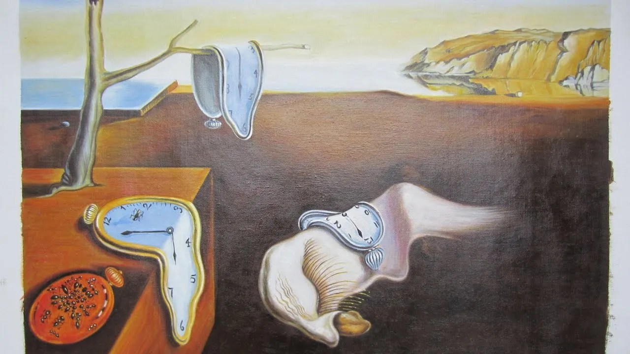 The Persistence of Memory painting