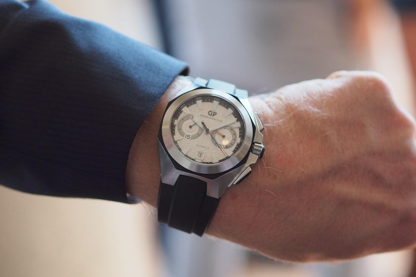 Girard-Perregaux Chrono Hawk 2012 wristshot