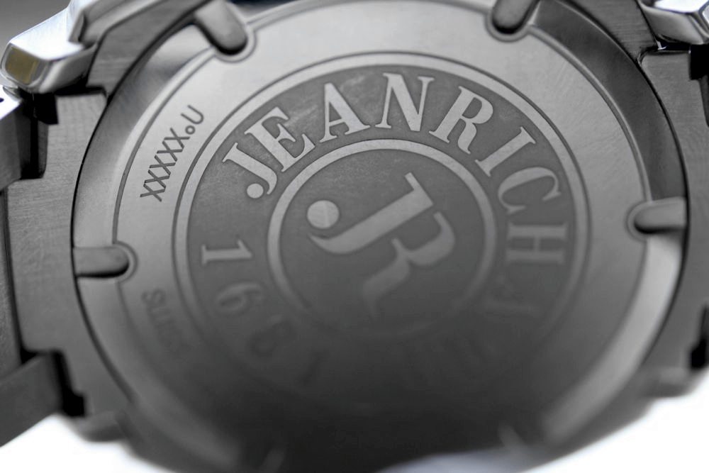 Jean Richard Terrascope caseback