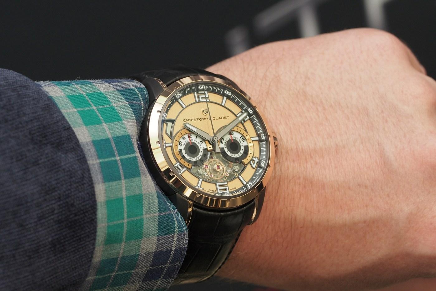 Christophe Claret Kantharos wristshot