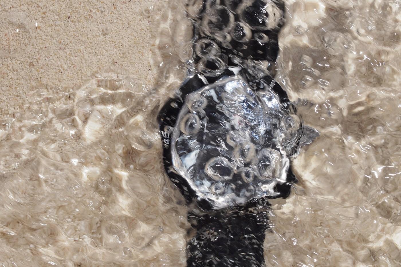 Jaeger-LeCoultre Deep Sea Chronograph underwater