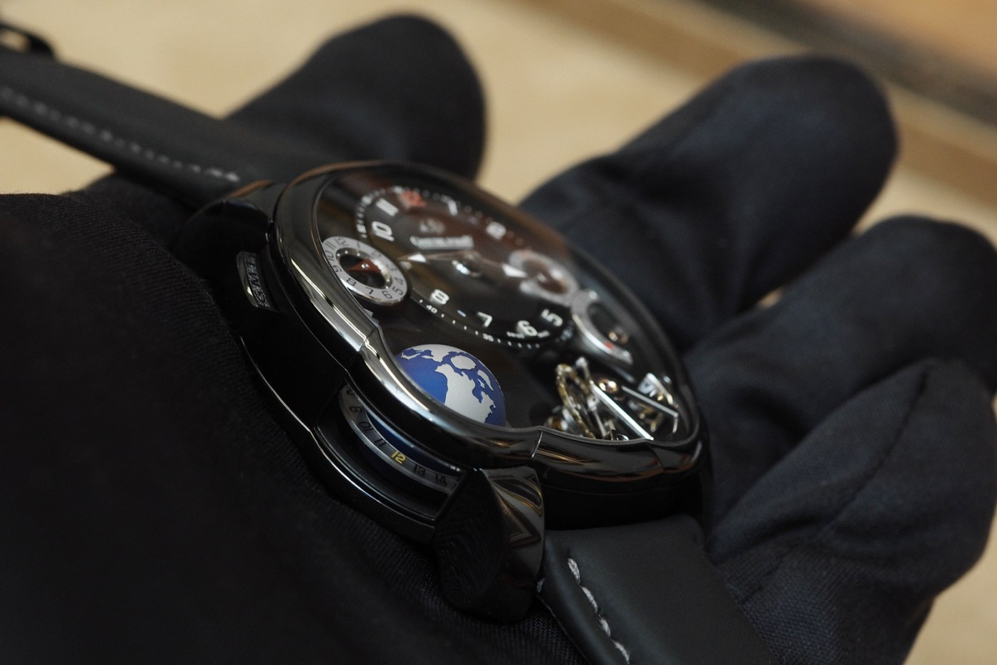 Greubel Forsey GMT Black side