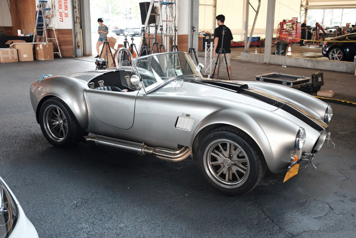 1965 Shelby A/C Cobra with Ford 302 V8 under the hood