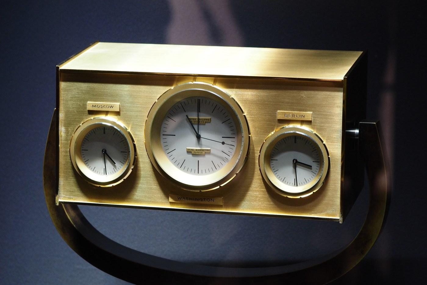 1963 John F. Kennedy clock by Patek Philippe