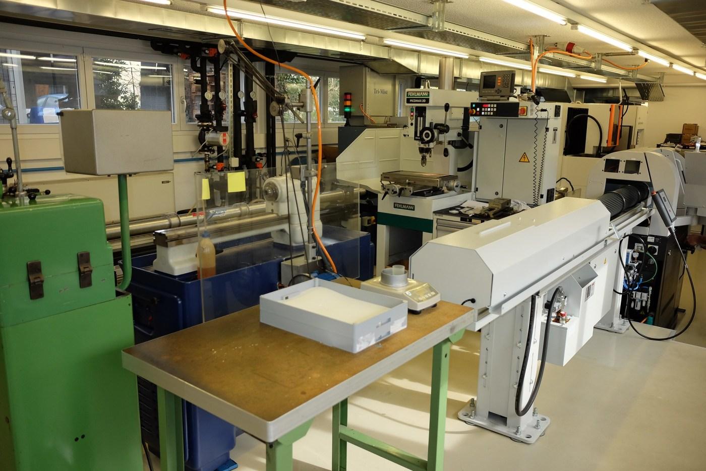 Armin Strom CNC department