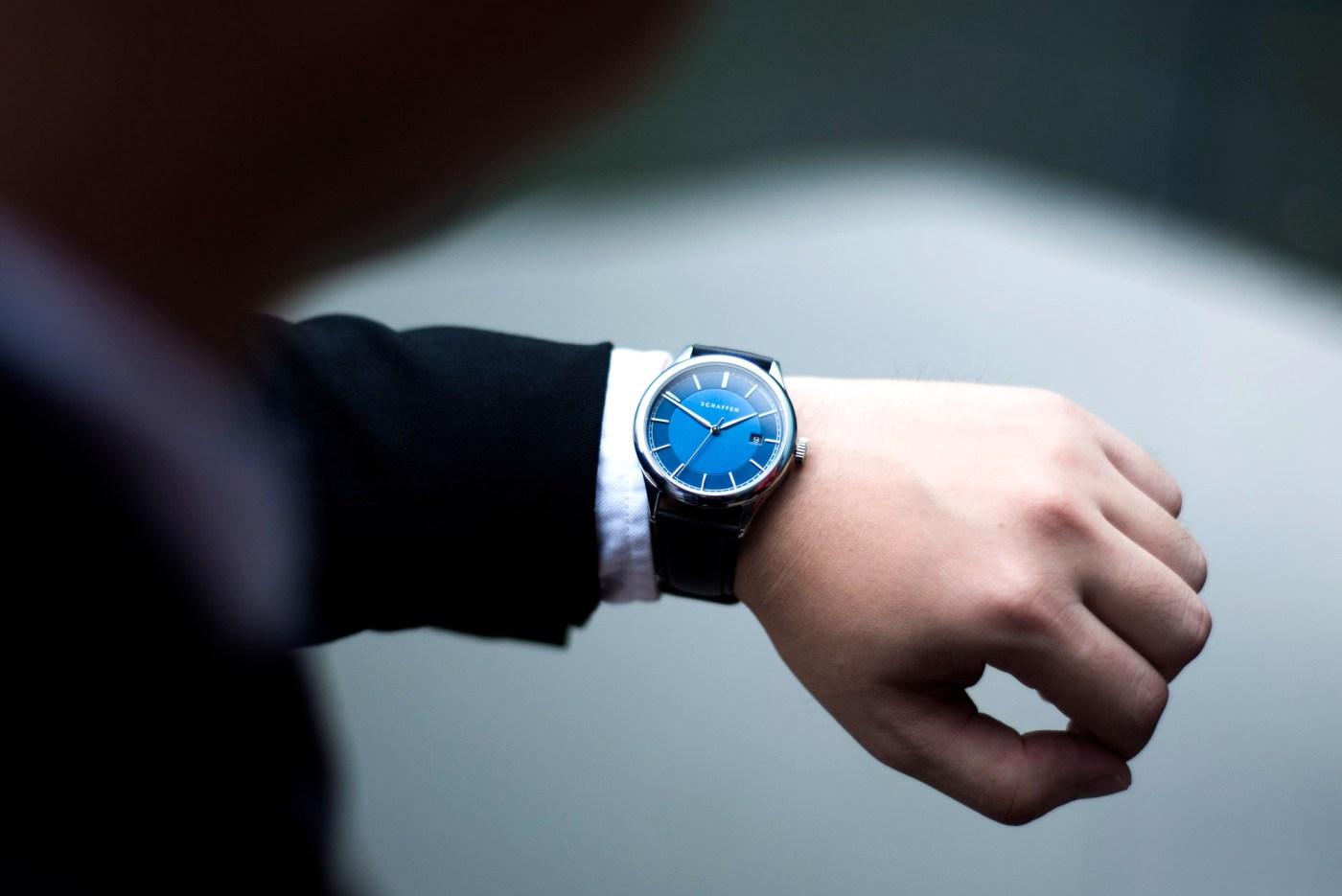 Schaffen A65 Dress watch wristshot