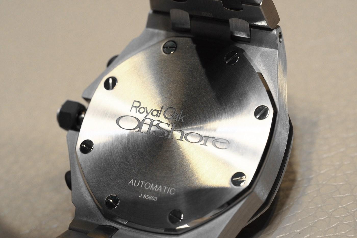 Royal Oak Offshore Selfwinding Chronograph caseback