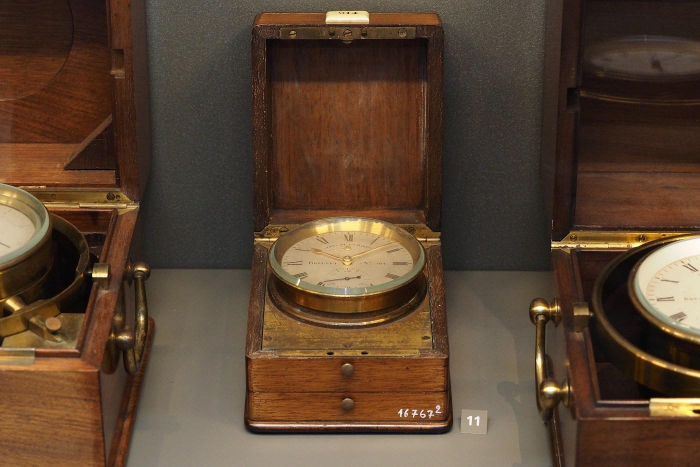 Breguet Marine Chronometer seen in Breguet Museum of Paris