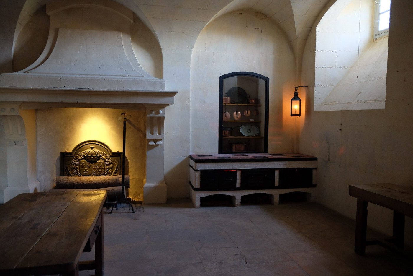 The Kitchen inside the Petit Trianon