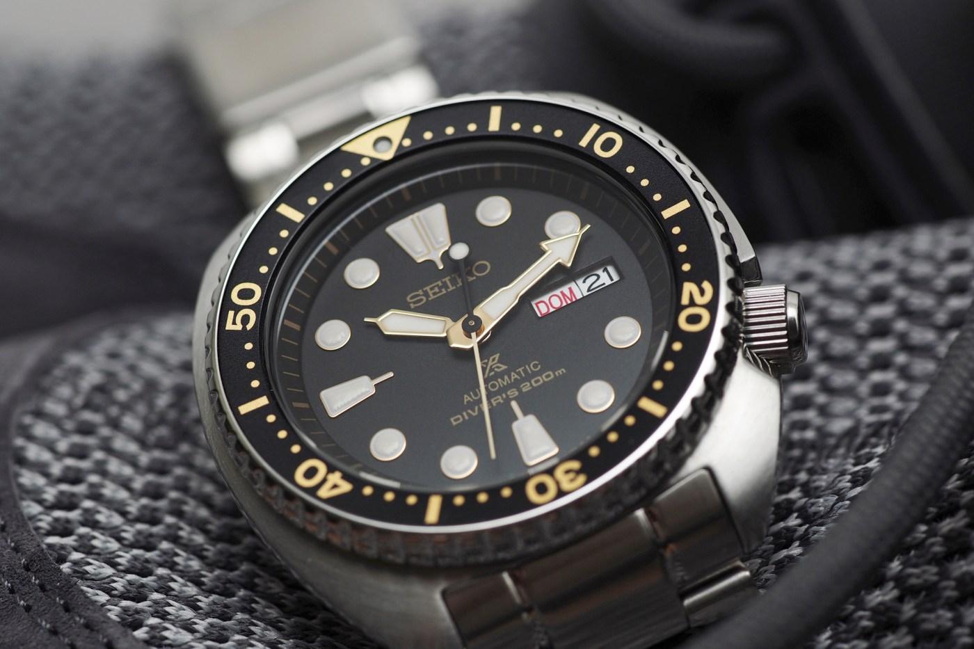 Seiko Turtle Dive watch