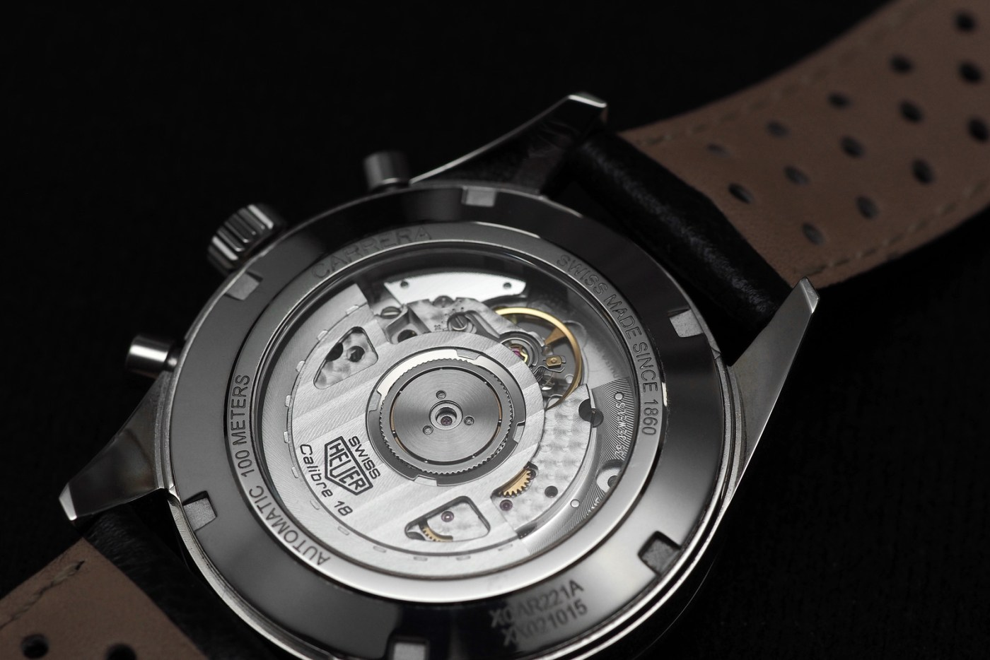 TAG Heuer Carrera Calibre 18 Automatic Chronograph caseback
