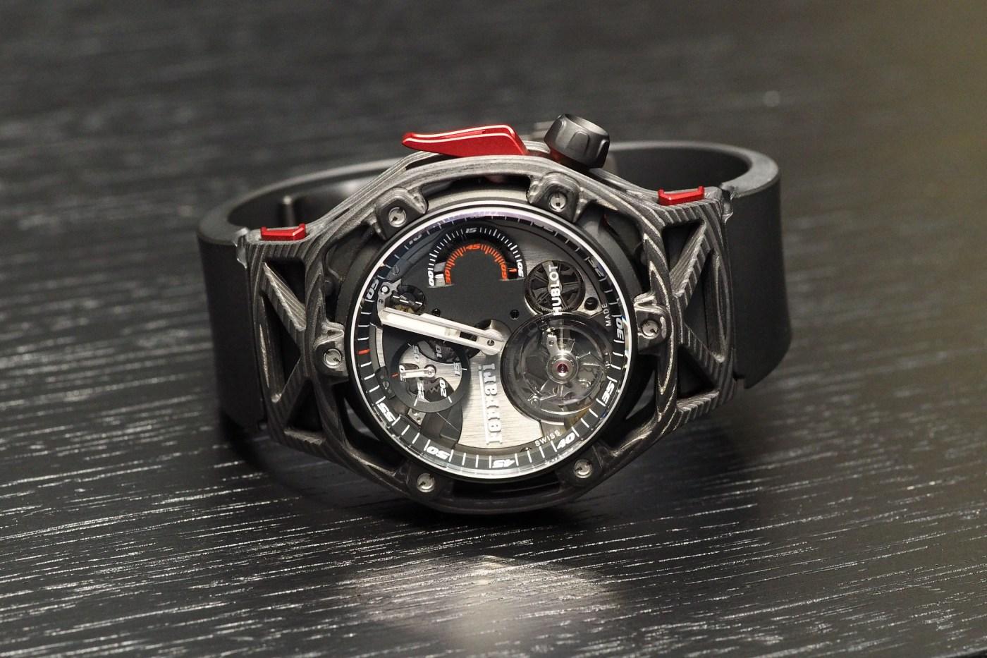 Techframe Ferrari Chronograph side
