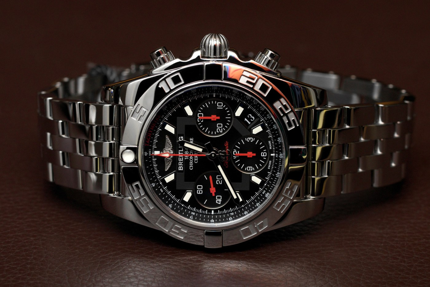 Breitling Chronomat at NYC boutique