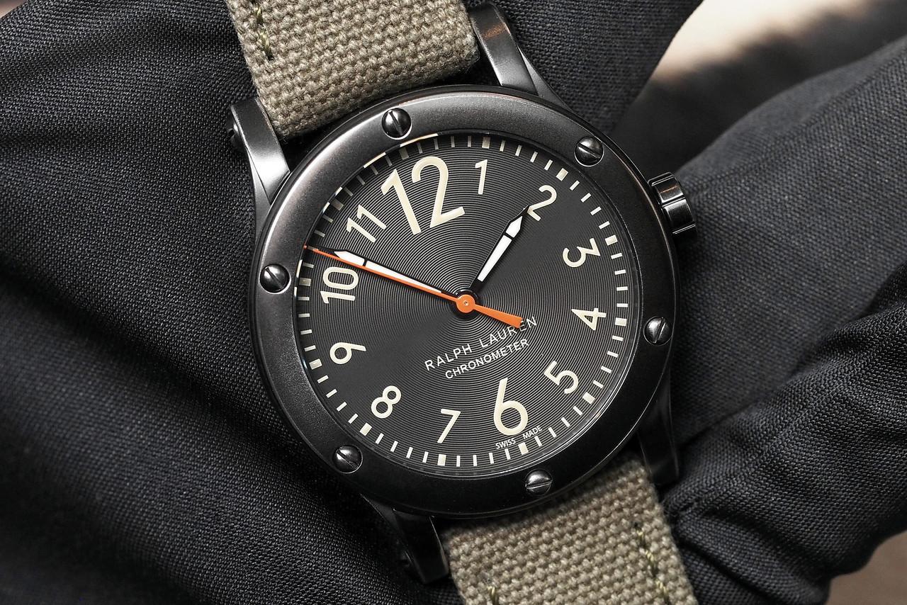 Ralph Lauren 39mm Chronometer Safari SIHH 2014