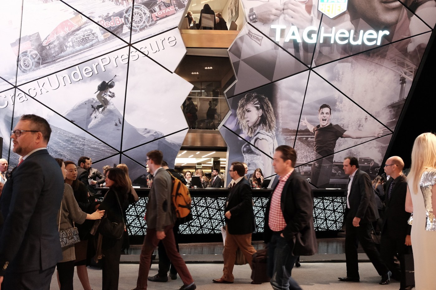 TAG Heuer Baselworld booth