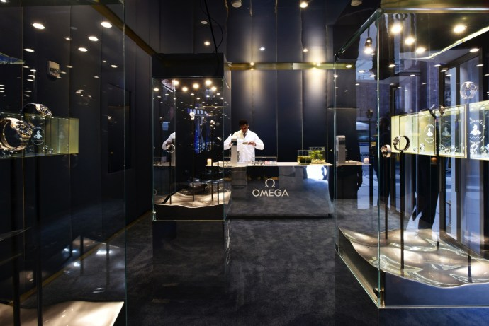 Omega opens up Seamaster pop-up at 711 5th Ave