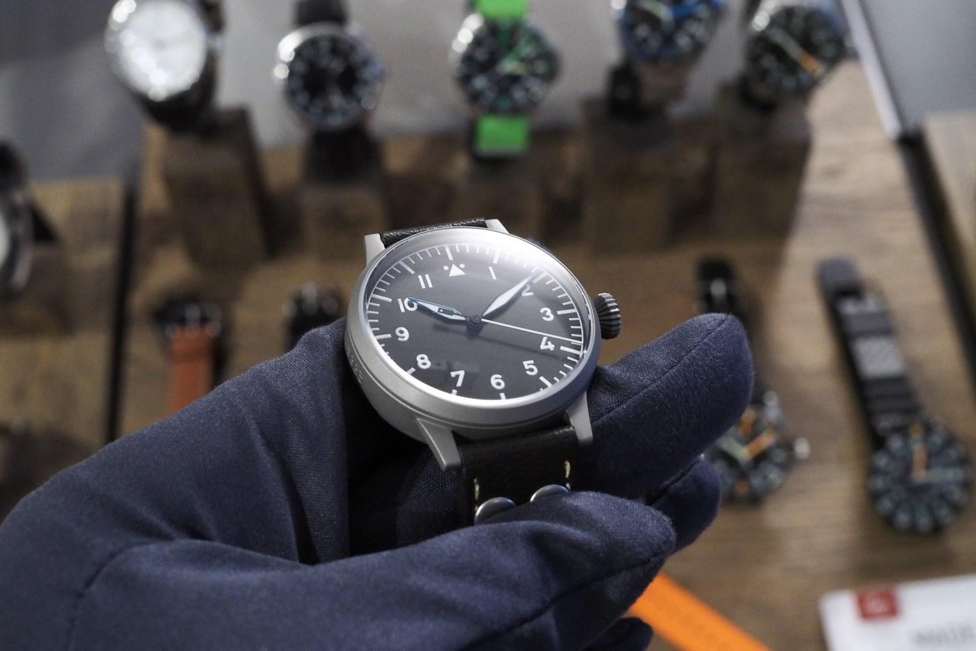 Laco Pilot watch