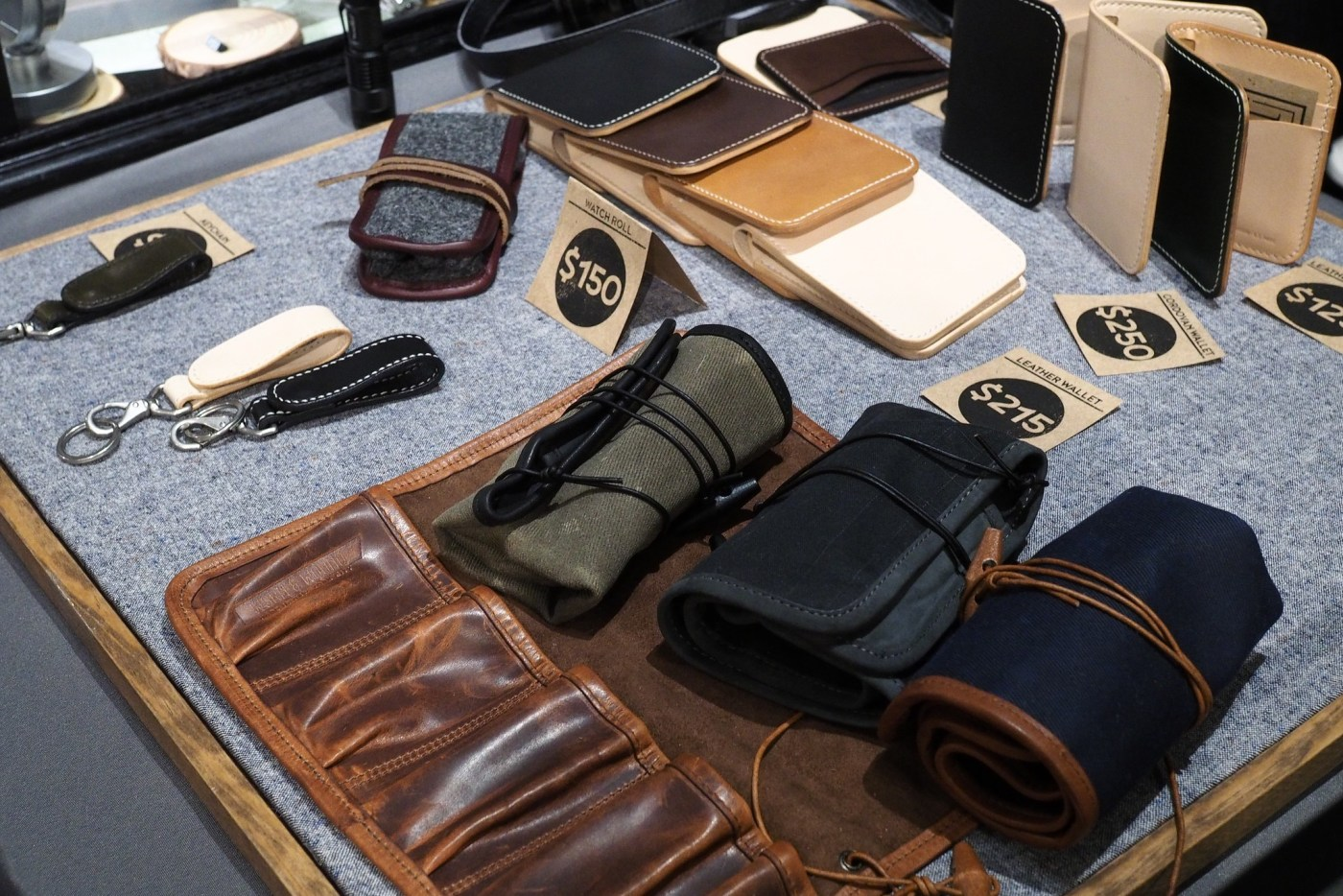 Worn & Wound Watch rolls and accessories