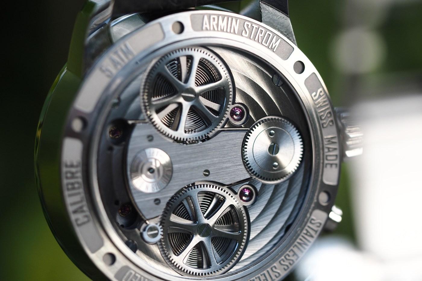 Armin Strom Mirrored Force Resonance stainless steel