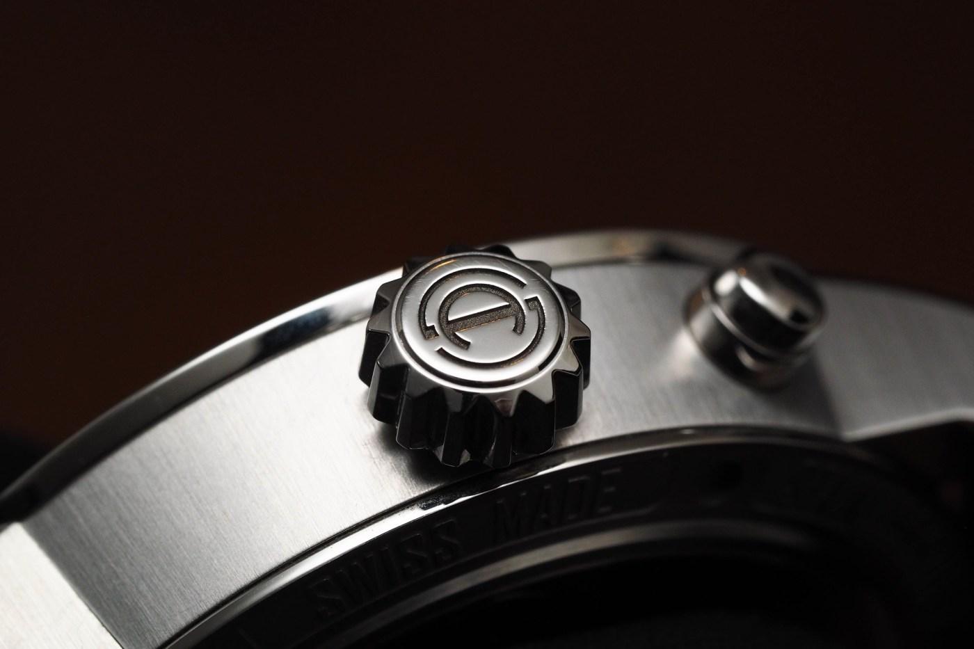 Armin Strom Mirrored Force Resonance stainless steel crown