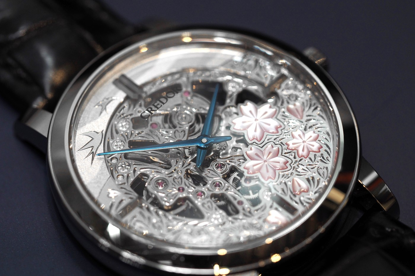 Credor Ref. GBBD965 hand engraved dial