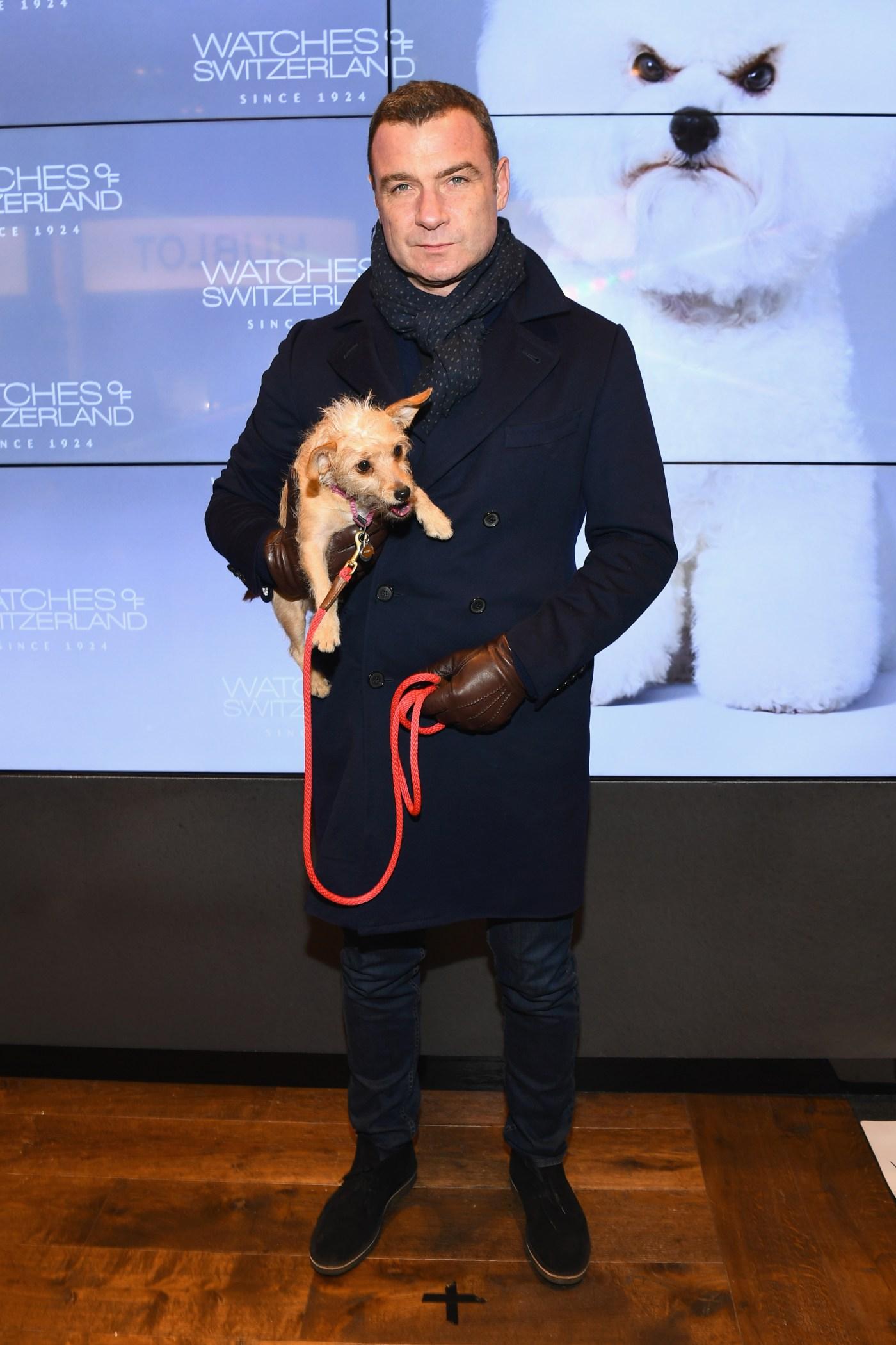 Liev Schreiber Watches Of Switzerland SoHo Launch Party