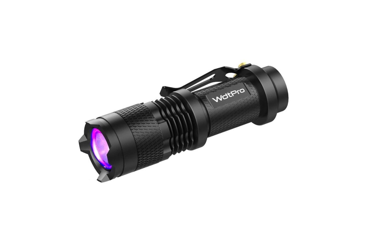 UV flashlight on Amazon