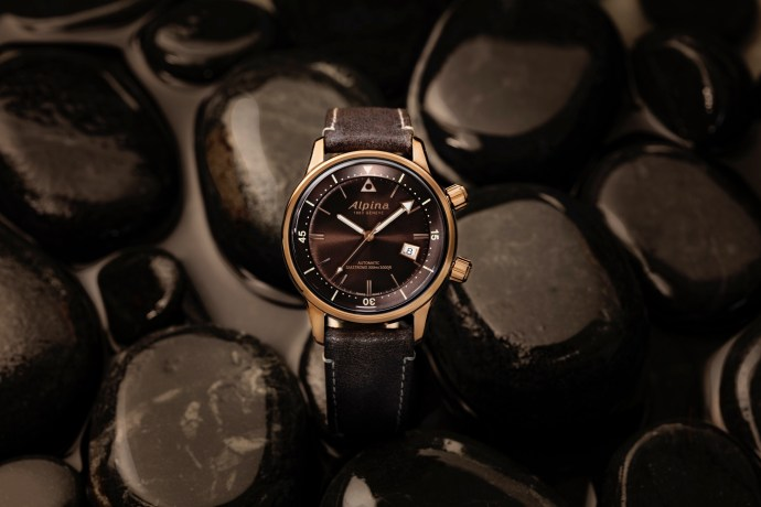 Bronze-Plated Alpina Seastrong Diver Heritage