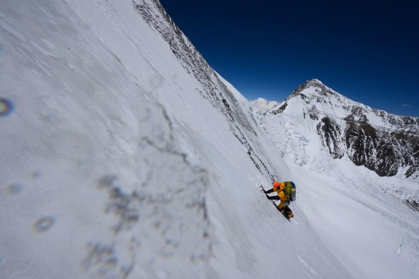 Cory Richards climbing Everest Spring 2019