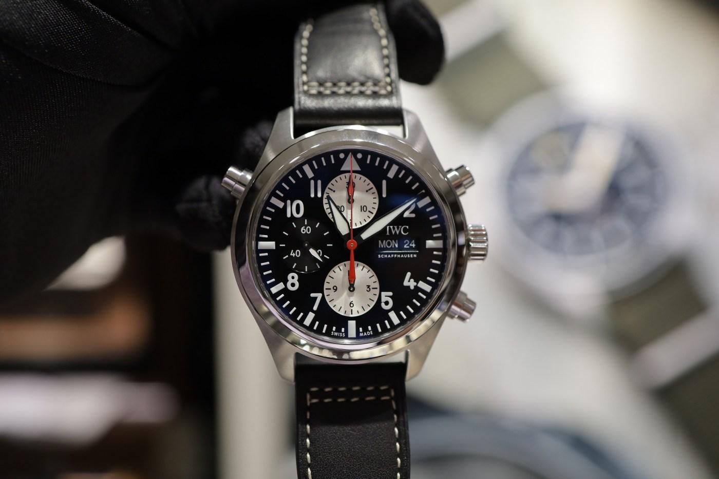 IWC Watches of Switzerland Pilot's Edition