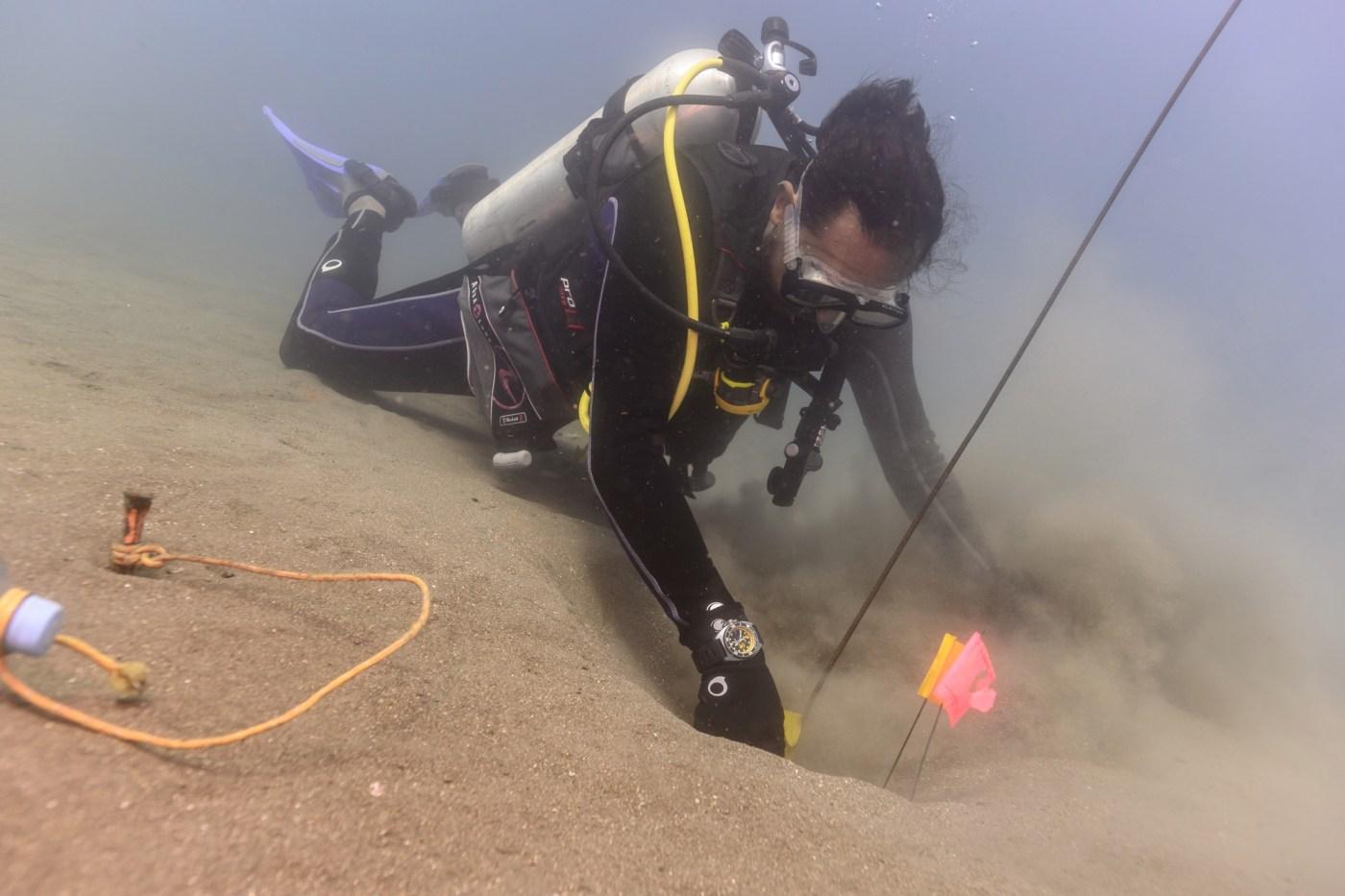 Aquadive Poseidon GMT underwater