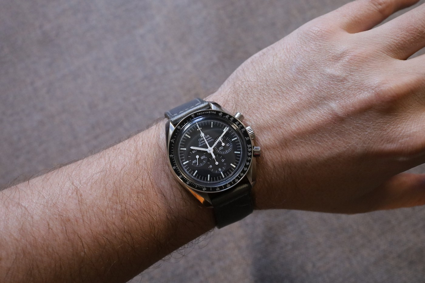 Watchbandit Two-Piece Nato Strap wristshot