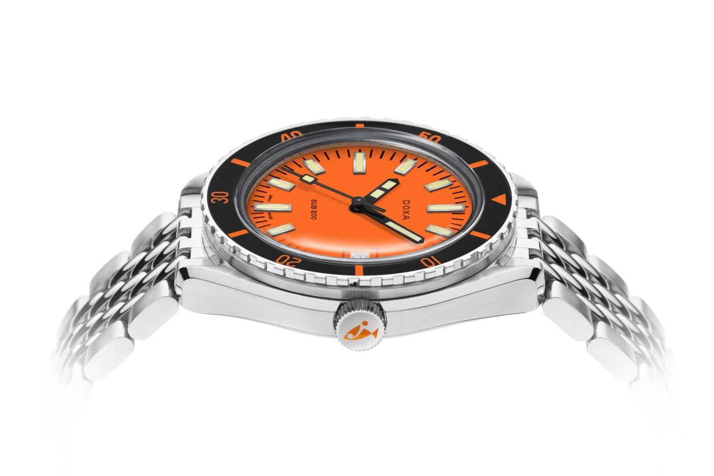 Doxa Sub 200 Orange dial