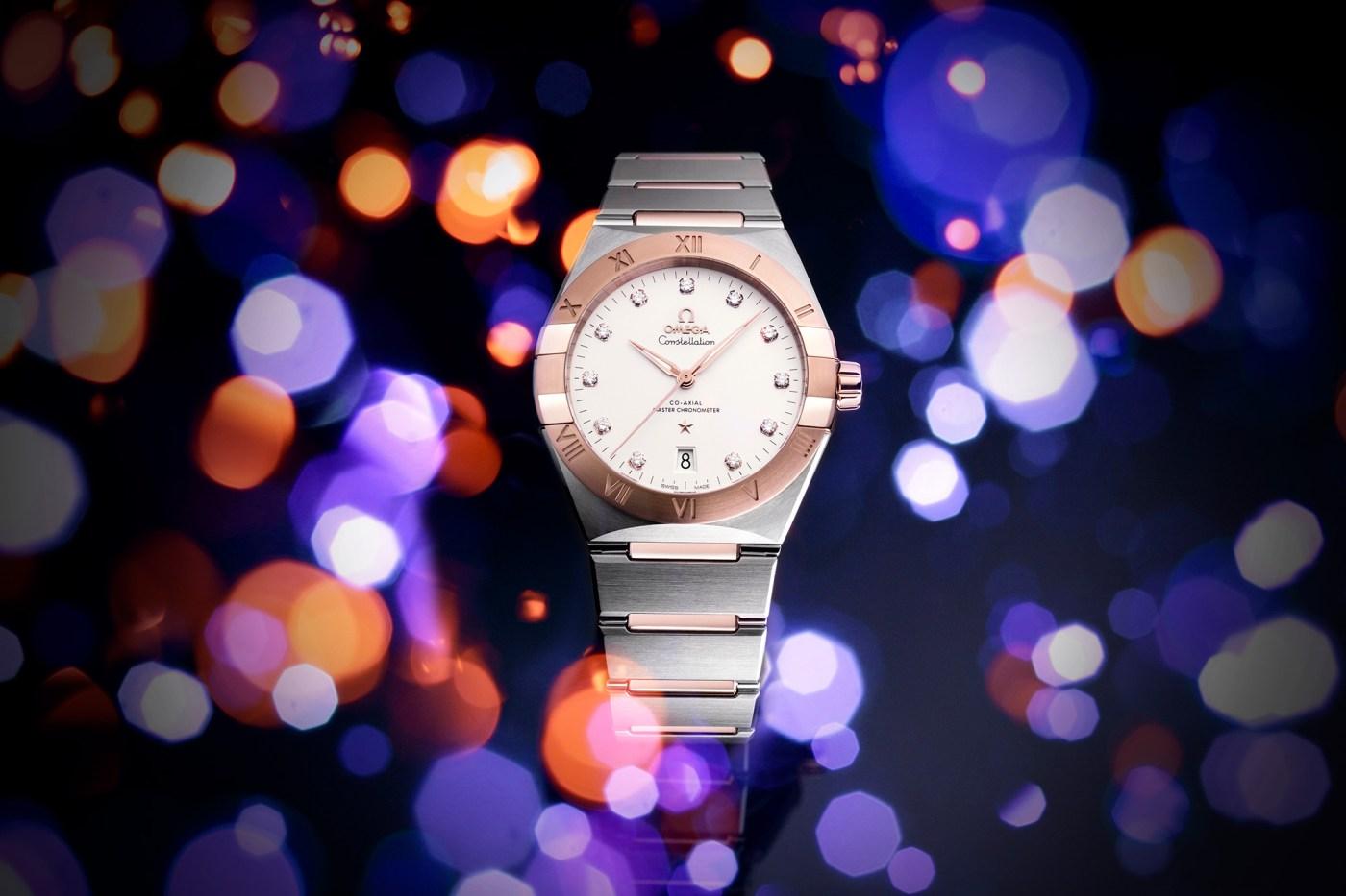 2020 Omega Constellation for Men diamond-studded dial
